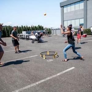 gry uliczne Roundnet Poland Spikeball